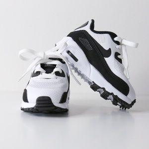 Nike Infant/Toddler Air Max 90 Sneaker in White